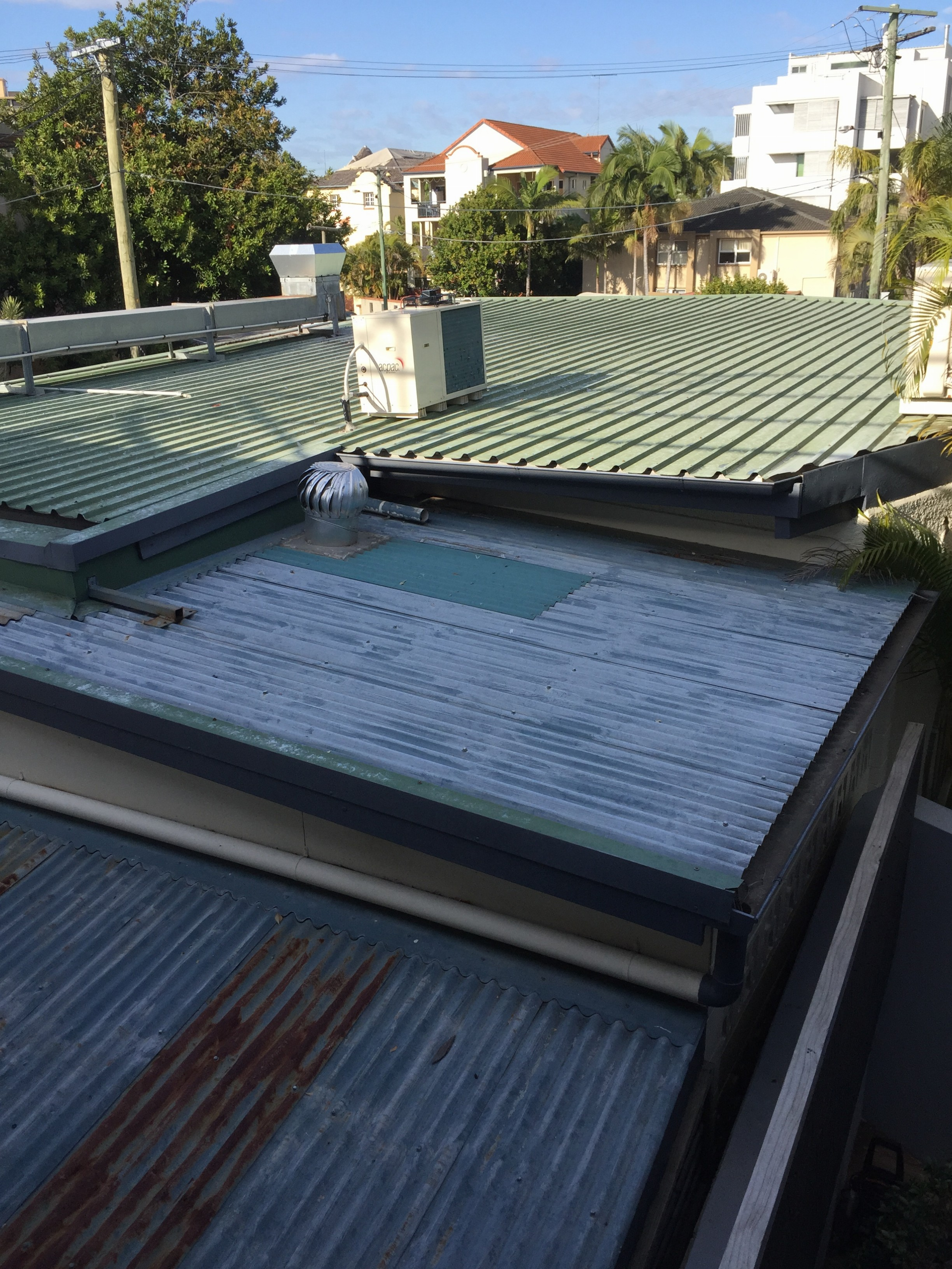 Sheet Metal Roof Repairs