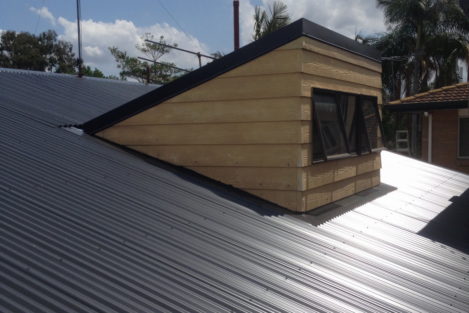Metal Roof Replacement Brisbane Roo Roofing